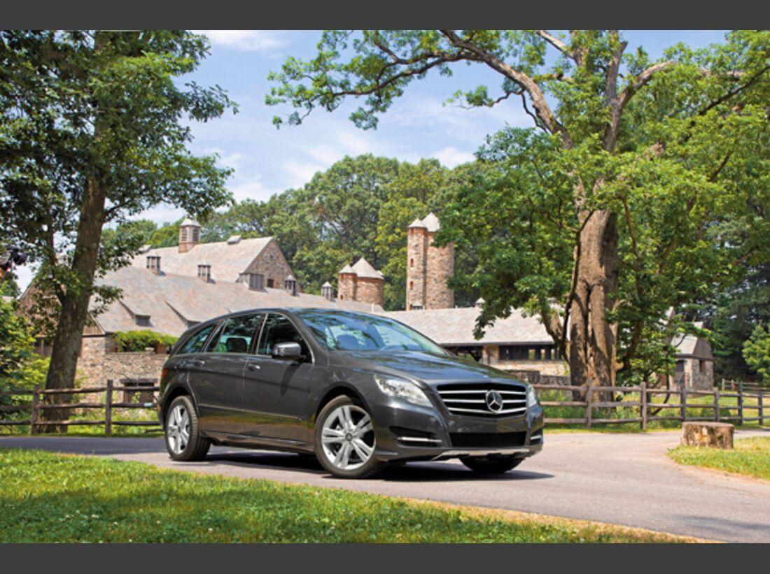 CAV 0911 Zugfahrzeuge perfektes Auto - Kombi - Mercedes R-Klasse