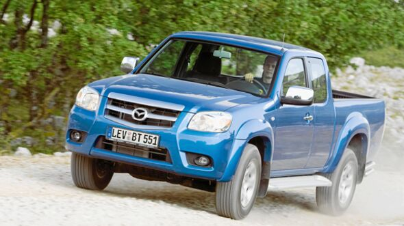 CAV 0911 Zugfahrzeuge perfektes Auto - Pick-up - Mazda BT50