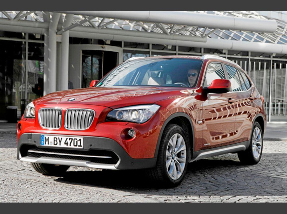 CAV 0911 Zugfahrzeuge perfektes Auto - SUV - BMW X1