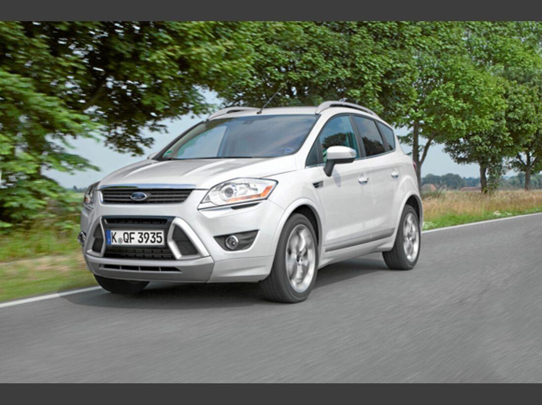 CAV 0911 Zugfahrzeuge perfektes Auto - SUV - Ford Kuga
