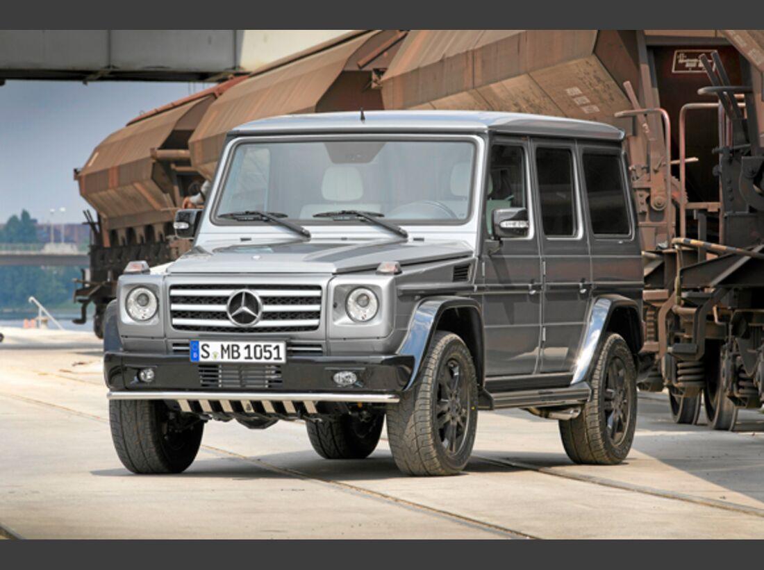CAV 0911 Zugfahrzeuge perfektes Auto - SUV - Mercedes G-Klasse