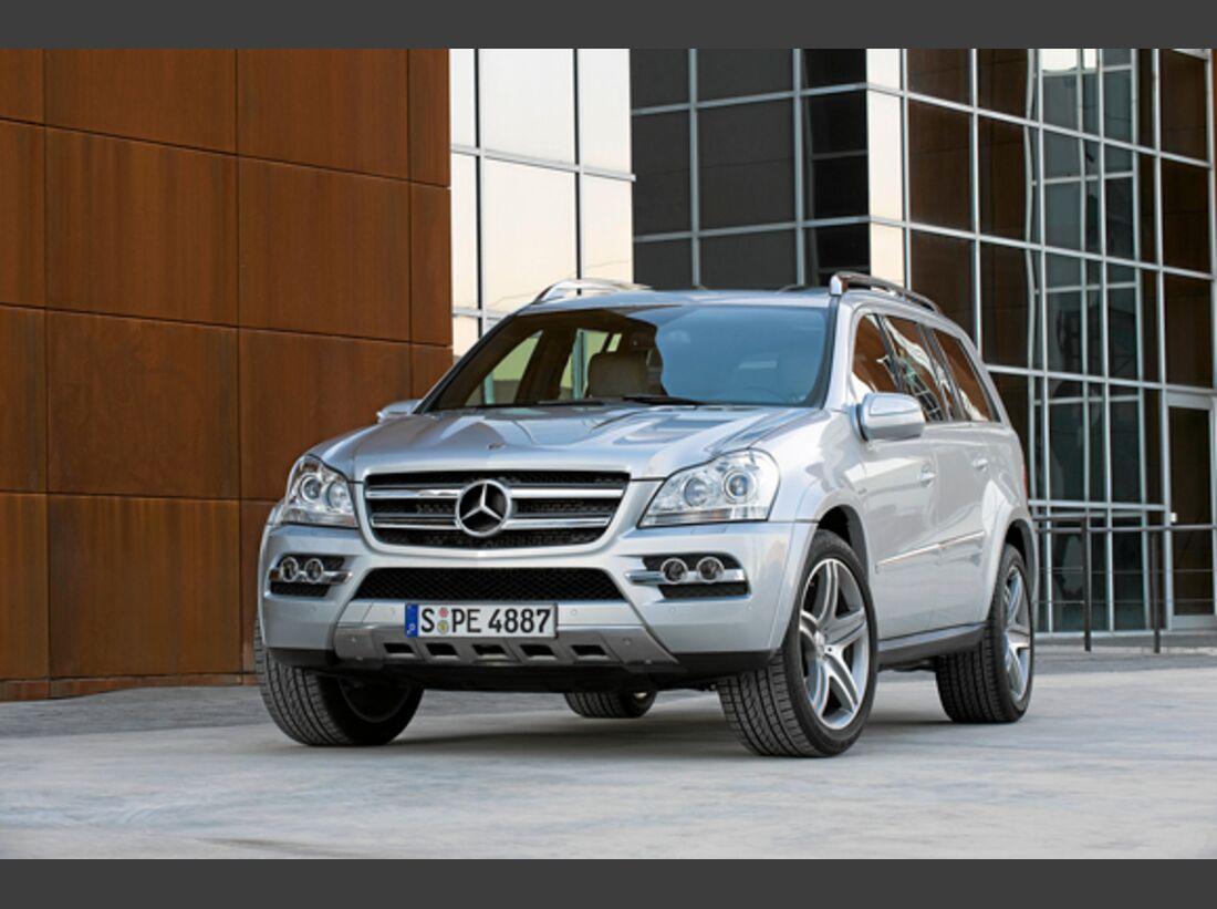 CAV 0911 Zugfahrzeuge perfektes Auto - SUV - Mercedes GL