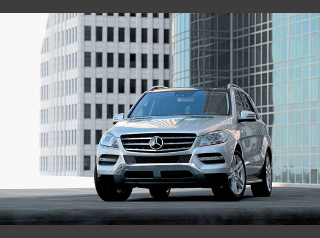 CAV 0911 Zugfahrzeuge perfektes Auto - SUV - Mercedes M Klasse
