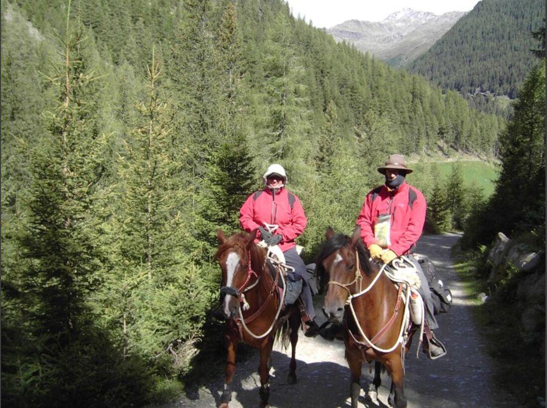 CAV Alpenritt 2010 Wanderritt Andreas Funke 09