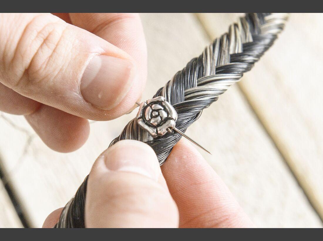 CAV Bastelecke Armband Pferdehaar 10