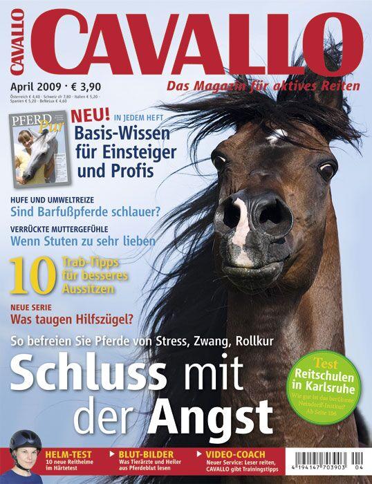 CAV Cavallo Titel April 2009