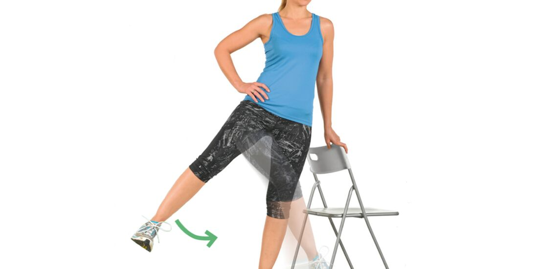CAV Kastner Motion Serie 02 - Übung 8 Beinschwingen seitlich