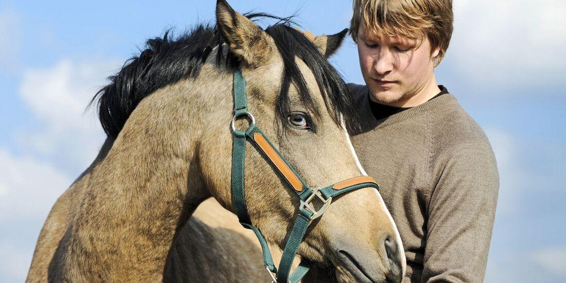 CAV Mann mit Pferd