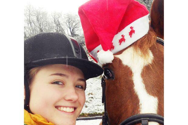 CAV Nikolaus mit Pferden Lynn G