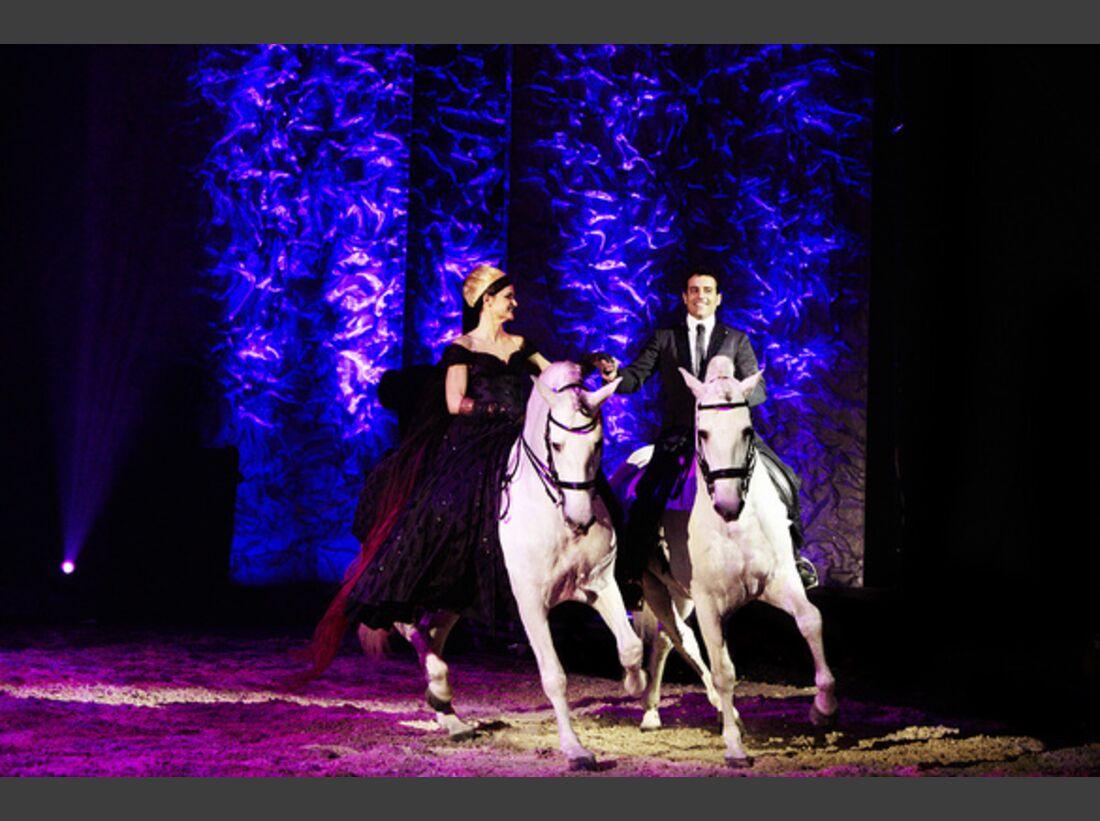 CAV Pferde-Show André Heller Magnifico 05