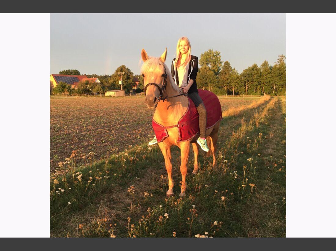 CAV Rassen die Leser reiten Leserfotos Jasmin Schnecke
