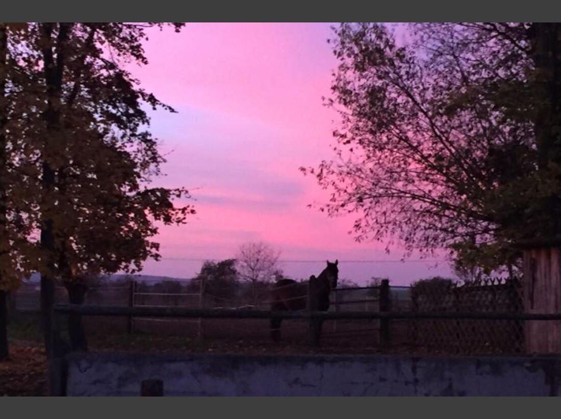CAV Sonnenuntergang Leserfotos Lisa Maria
